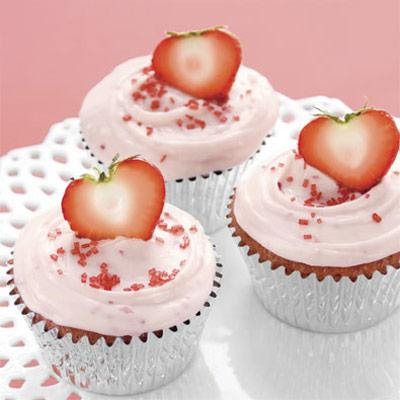 Cupcakes lindos de San Valentin