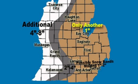 It's not over yet. More wind and lake effect Tuesday