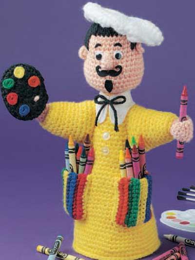 Little Artist Crayon Keeper