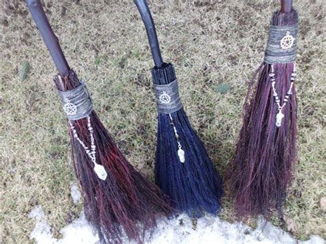 Handfasting Brooms MADE TO ORDER Wiccan Wedding Broom Pagan