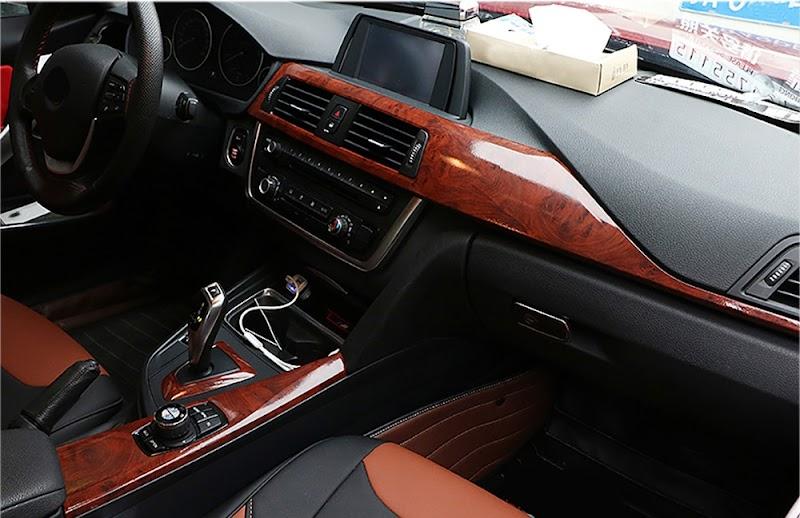 Car Interior Wood