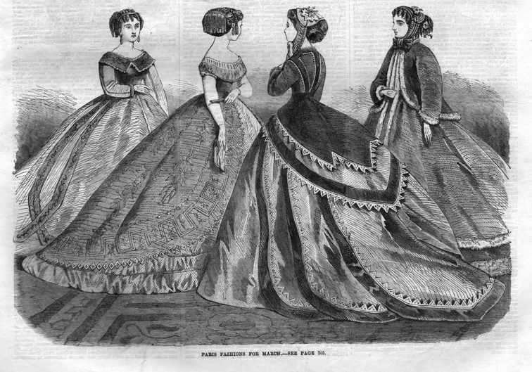 fashion 1866 march
