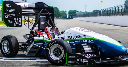 LITE↯BLOX as power source in Formula Student racing