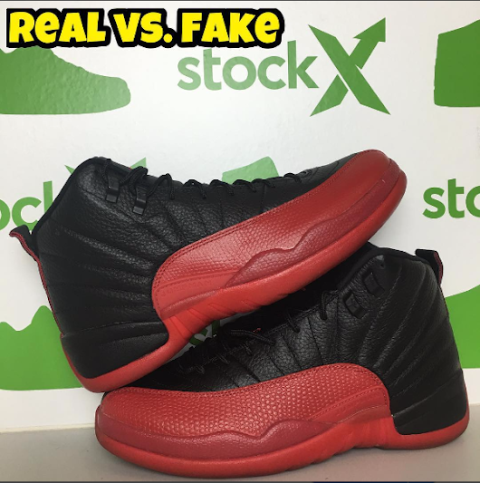 Real Vs Fake Retro 12: New Real Vs. Fake By Fake Education For The New Air Jordan