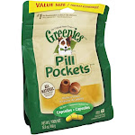 Greenies Pill Pockets For Dogs Capsules Chicken Flavor 15.8 oz.