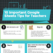 10 Important Google Sheets Tips for Teachers ~ Educational Technology and Mobile Learning
