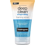 Neutrogena Deep Clean Invigorating Foaming Face Scrub - 4.2 fl oz