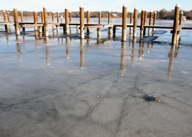 icy wet & sunny