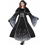 Adult's Womens Forsaken Souls Evil Spellcaster Dress Costume X-Large 18-22