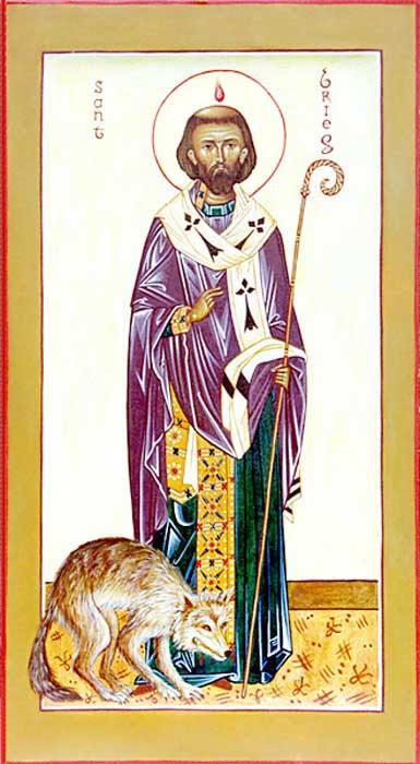 IMG ST. BRIOC, Brieuc, Briocus, Founder of Monastery in Tréguier