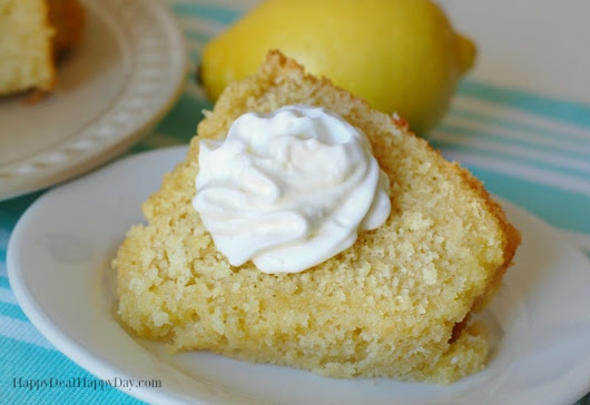 Lemon Corn Cake Recipe | Happy Deal - Happy Day!
