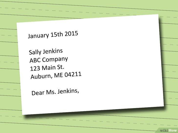 Cara Membuat Cover Letter Andrian James Blog