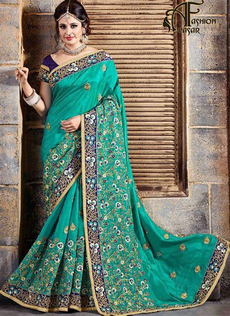 Wedding Reception Sarees   Bridal Designer Sarees For