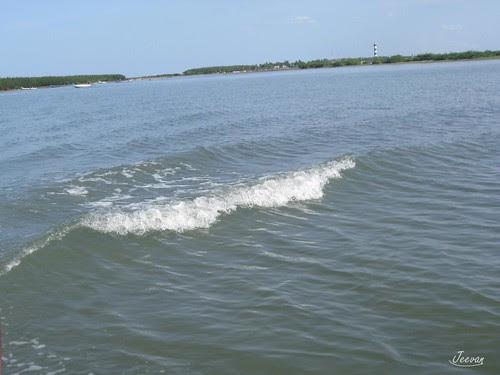 Lake ripple