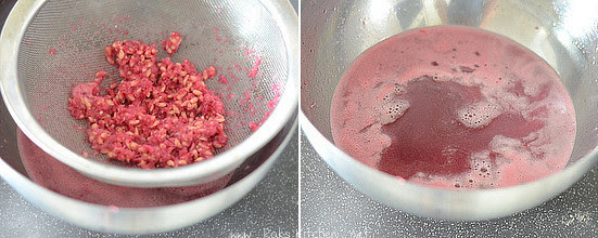 how to make pomegranate juice in tamil