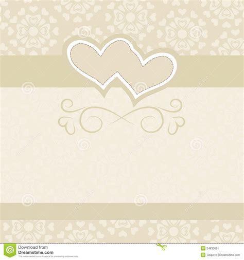 Wedding Backdrop For Wedding Invitations Stock Vector