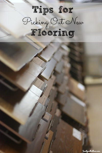 Tips for Picking Out New Flooring - Balancing Beauty and Bedlam