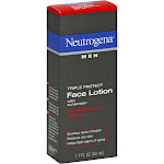 Neutrogena Men Triple Protect Face Lotion, SPF 20 - 1.7 fl oz tube