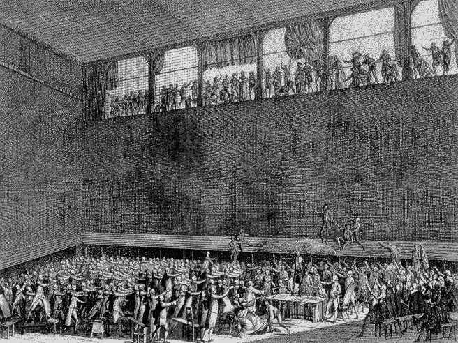 'Le serment de Jeu de Paume (1789)