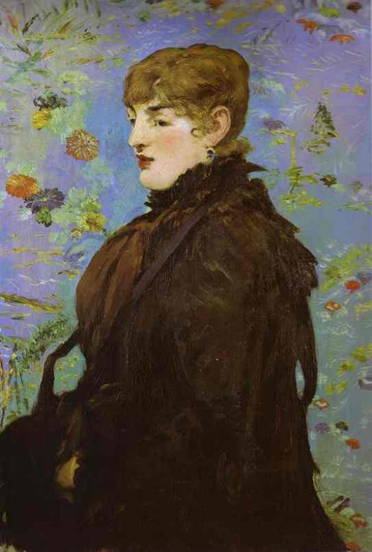 Autumn (Méry Laurent), öl von Edouard Manet (1832-1883, France)