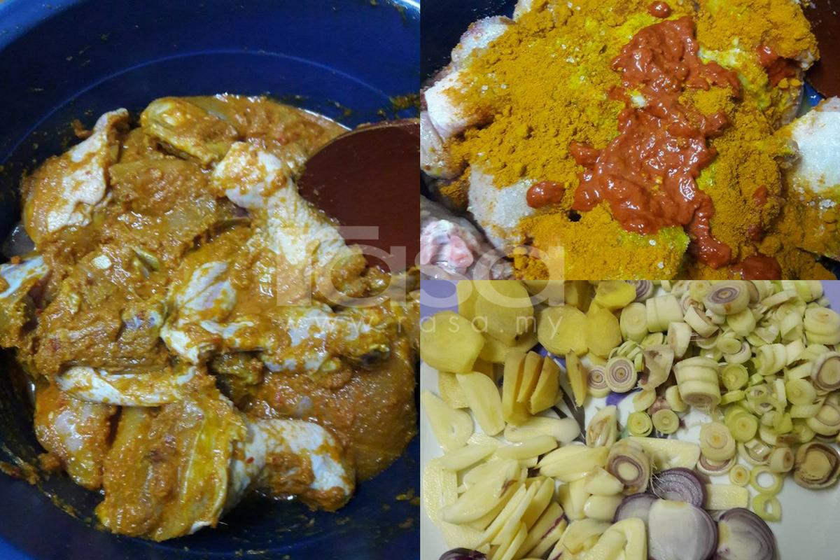 resipi ayam masak lemak cili api sedap surasmi Resepi Kaki Ayam Masak Lemak Cili Api Enak dan Mudah