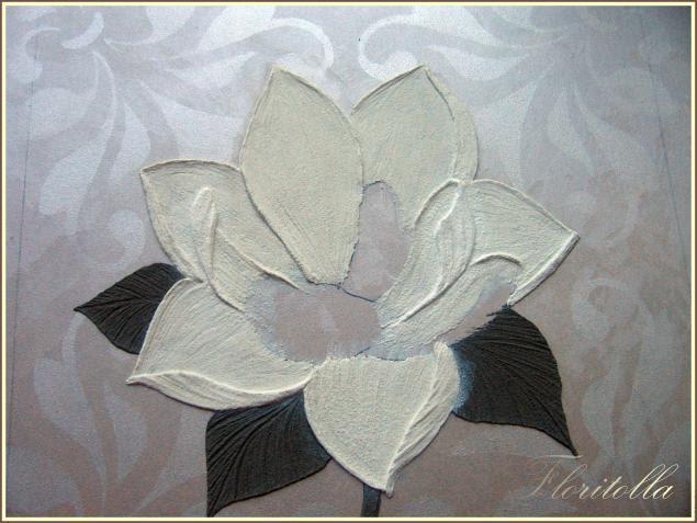 Benim Marifetlerim Rölyef Pastadan çiçek Yapımı
