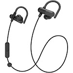 Fast Pairing Wireless Bluetooth Splash Resistant Comfortable In Ear Buds Black