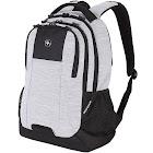SwissGear Laptop Backpack, Light Heather Gray/Black