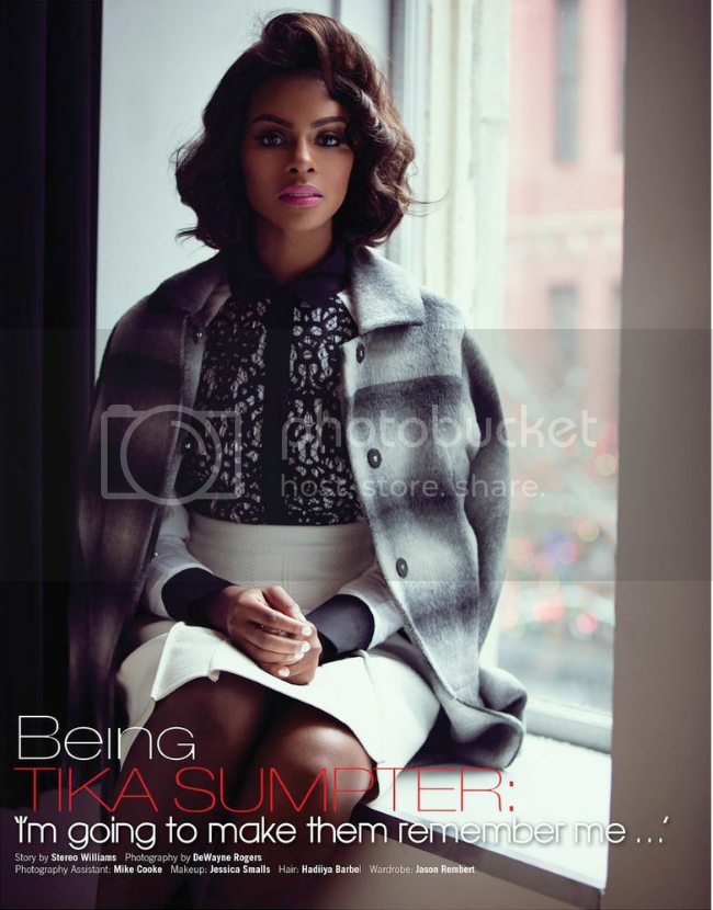 Tika Sumpter by DeWayne Rogers for Roll Out