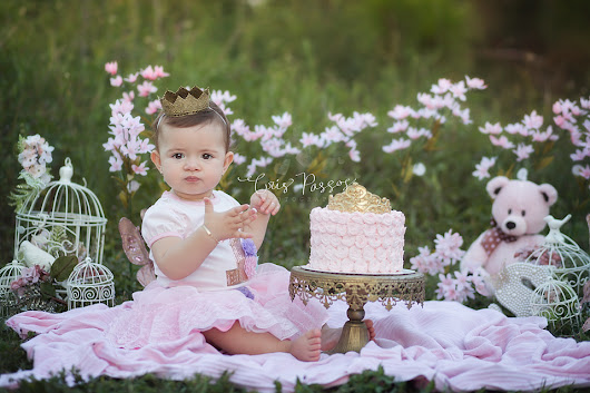 South Florida Baby Photographer | Boca Raton | Sophia {Cake Smash}