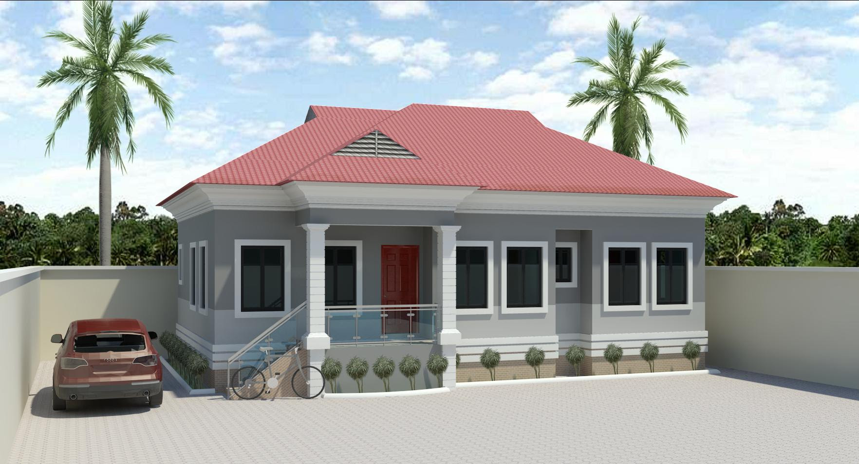Architectural Designs Of Bungalow Houses In Nigeria ...