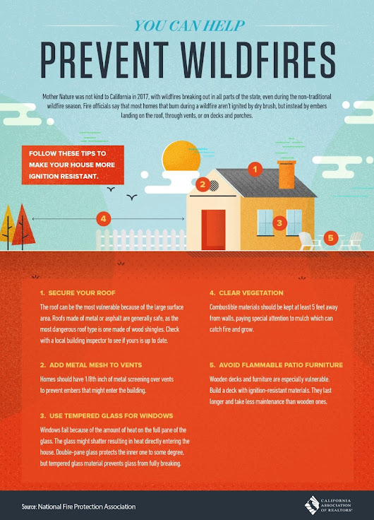 Preventing Wildfires [Infographic]
