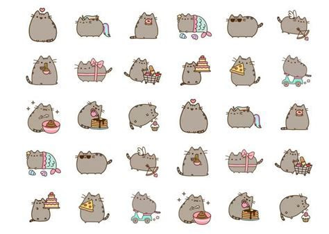 Pusheen ? My Cupcake Toppers