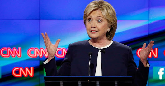 Column: Hillary won when the men flinched