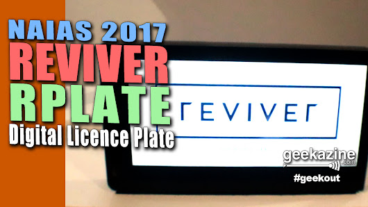 Reviver Brings Digital License Plates to Cars with RPlate