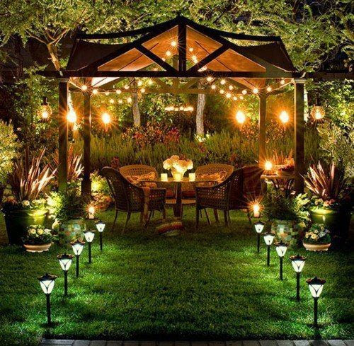 Outdoor Backyard Lighting Ideas