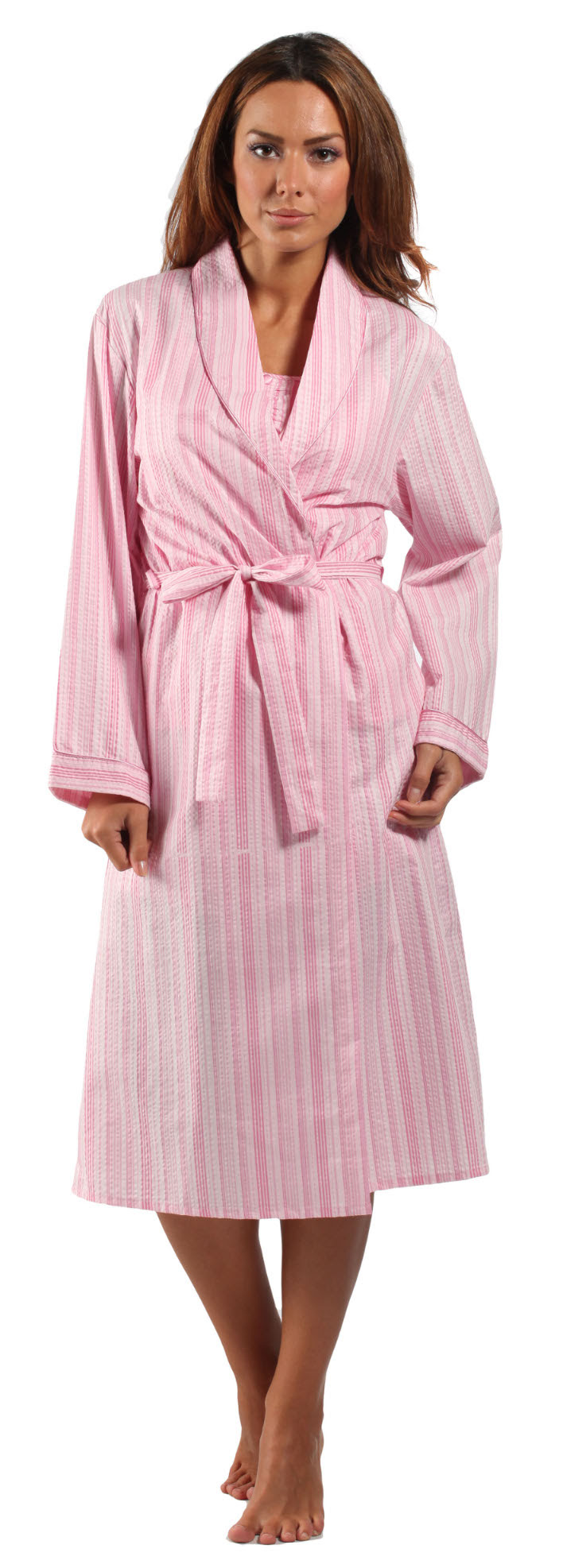 Thin Cotton Dressing Gowns Ladies | Insured Fashion
