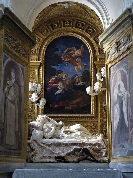 File:Blessed Ludovica Albertoni by Gian Lorenzo Bernini (setting).jpg