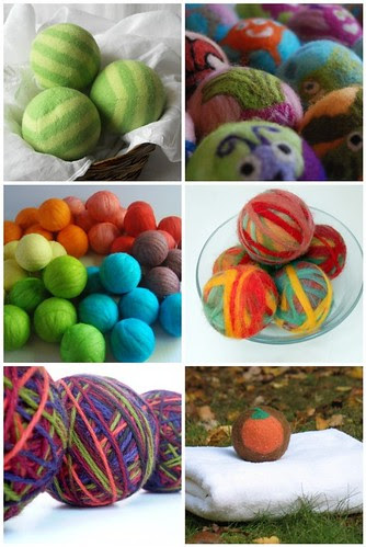 Mosaic ~ Wool dryer balls