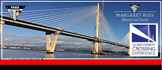 Walk the Queensferry Crossing in memory of Margaret - Pars Supporters Trust