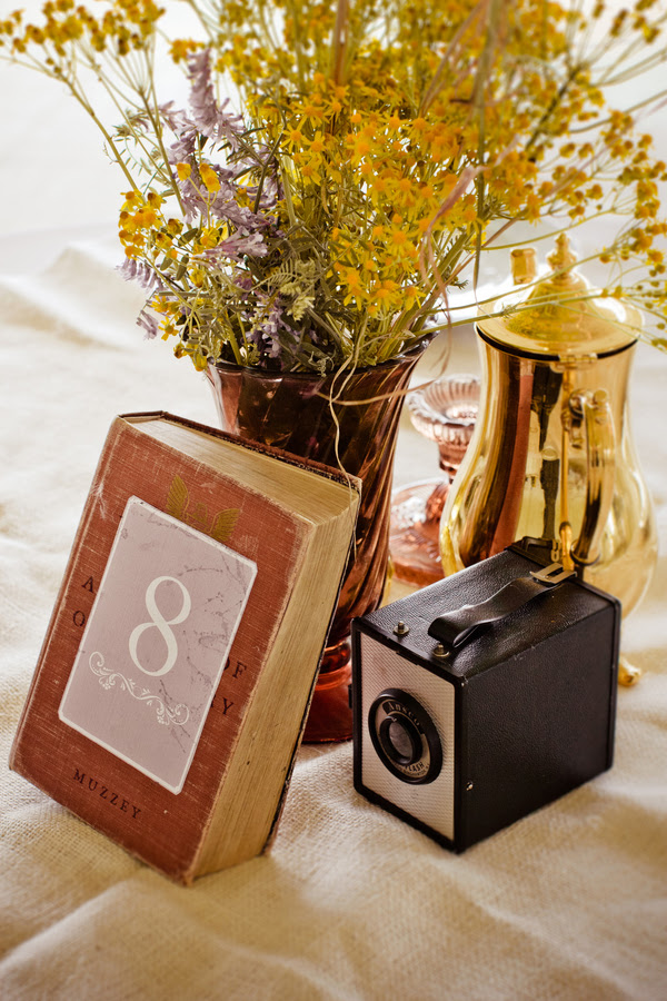 Varied DIY centerpieces making a reception all the more exciting and