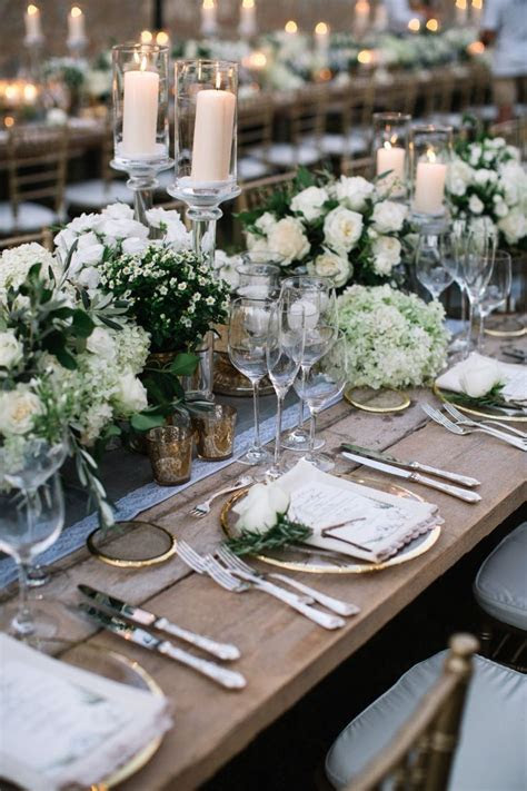 14 Romantic Wedding Table Settings, Romantic Sweetheart
