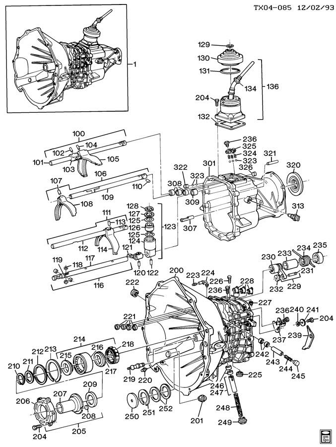 [DIAGRAM] 88 Chevy S10 Manual Transmission Diagram FULL