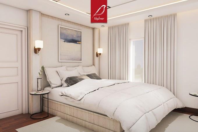 Desain Kamar Tidur Putih Minimalis