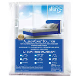 """AllergyCare Bed Bug Mattress Covers - King 16"""", 100% Polyester   Allergy-Reducing Relief"""