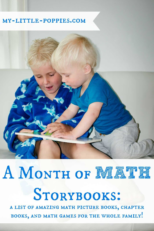 A Month of Math Storybooks ~ My Little Poppies
