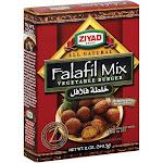 Ziyad Brand Falafil Mix - Vegetable Burger - 12 Oz - Case Of 6