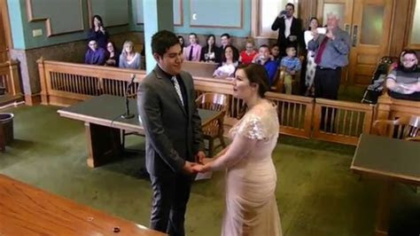 Crystal's Marriage Ceremony at Tarrant County Courthouse 4