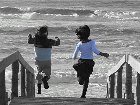 Running free child