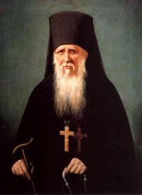 tableau de saint Ambroise d'Optina